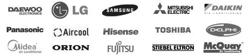 Klíma márkák logo